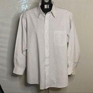 Izod Button Down Shirt Twill Cotton XL